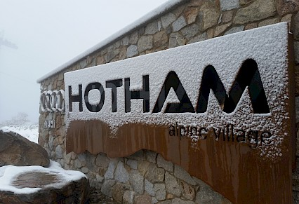 Hotham pushed back