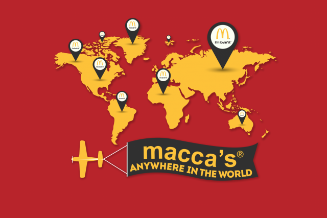 Macca's Anywhere!