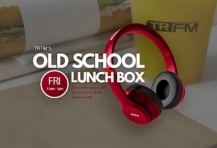 TRFM Old School Lunch Box